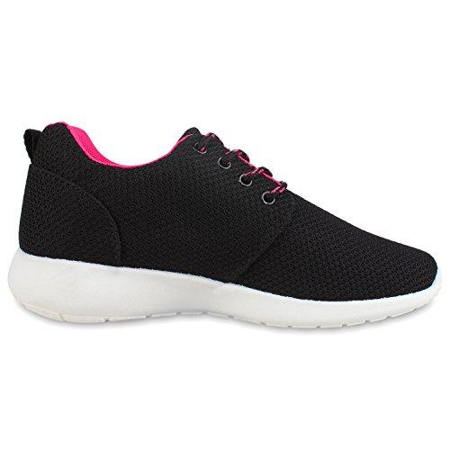 Rosa Ajvani Nero Ajvani donna Sneaker Sneaker P5YqqWwX1