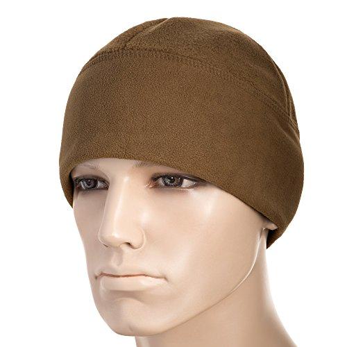 M-Tac Tactical Hat Windproof Fleece 380 Mesh Watch Military Skull Cap Beanie (Coyote Brown, Medium)