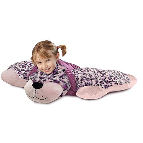 Pillow Pets Jumboz, Pink Leopard, 30