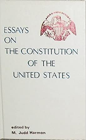 Environmental Science Essay Essays On The Constitution Of The United States Multidisciplinary Studies In  The Law Essay Term Paper also Psychology As A Science Essay Amazoncom Essays On The Constitution Of The United States Multi  Business Essays Samples