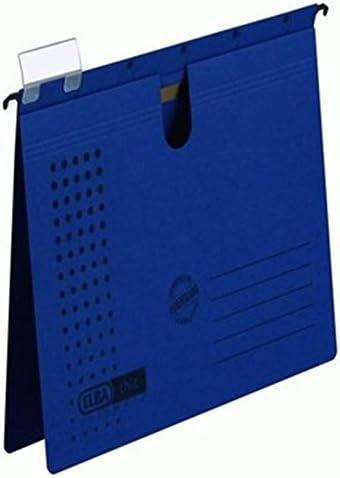 Elba Chic Ultimate A4 Caja de cartón Azul archivador colgante ...