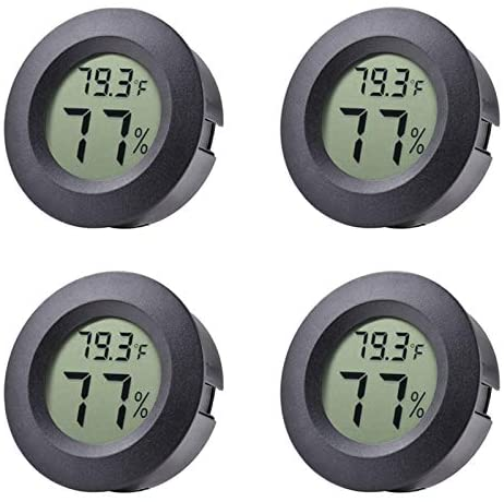 Veanic Hygrometer Thermometer Temperature Humidifiers product image