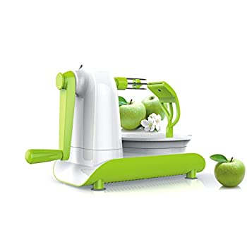 Huluwa Apple Peeler, Hand Crank Fruit Peeler Corer, Multifunction Fruit Apple Peeling Machine Kitchen Tools