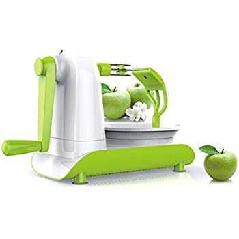 Huluwa Apple Peeler, Hand Crank Fruit Peeler Corer, Multifunction Fruit Apple Peeling Machine Kitchen Tools