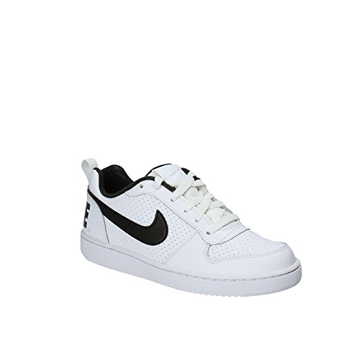 Nike Court Borough Low (GS), Zapatos de Baloncesto Unisex Niños Blanco ...