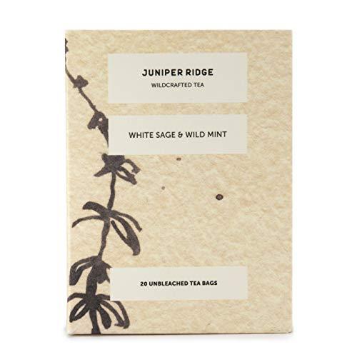 JUNIPER RIDGE Wildcrafted White Sage & Wild Mint, 20 ()