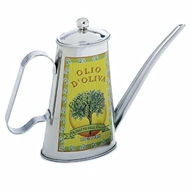Norpro 71 2-Cup Stainless Steel Oil Can, Multicolored
