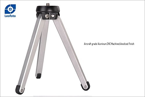 Leofoto MT-01 Table Top Tripod/Pocket Pod Super Stable Ideal for Compact Camera