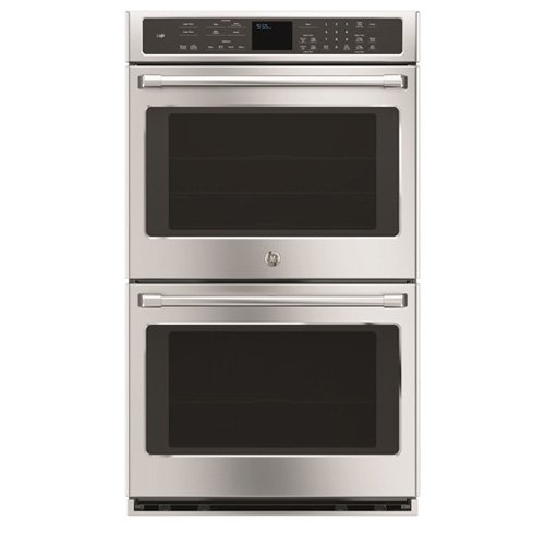 GE CT9550SHSS Cafe 30'' Stainless Steel Electric Double Wall Oven - Convection by GE