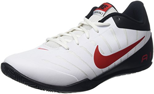 Nike Air Mavin Low 2 - Zapatillas unisex, color blanco / rojo