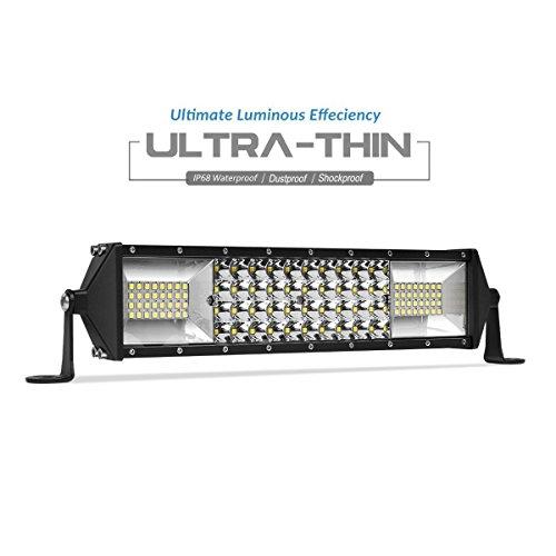 (LED Light Bar Quad Row 10