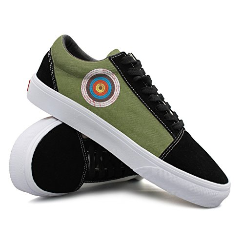 Vintage Archer Archery Target Casual Shoes Sneakers Boat Customize New Original