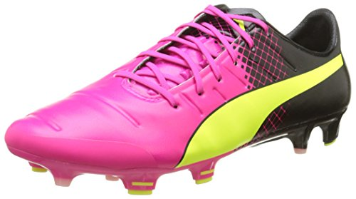 Puma Mens Evopower 3.3 Tricks Fg Soccer Shoe Rosa