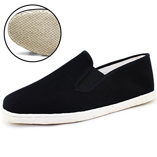 soyoo women mens 100 hand made chinese kung fu shoes black