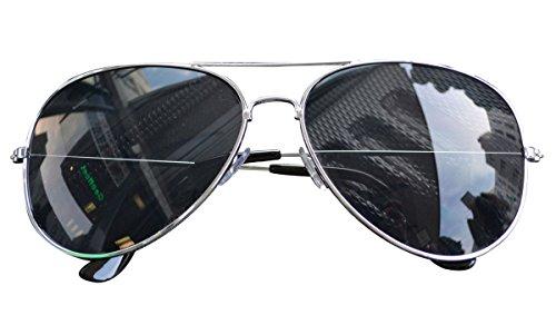 Gafas nbsp;colores VERS 12 Gafas Aviador Pilot gafas porno Gafas Sol piegelt Negro De PqwdOgO