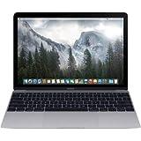 Apple MacBook Retina Display 12 Inch Core M-5Y31 1.1GHz 8GB RAM 256GB SSD - Space Gray (Renewed)