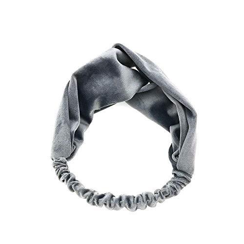 (For Women Headband Elastic Head Wrap Hair Band Girls Solid Hair Accessories oc (Color - 21#))