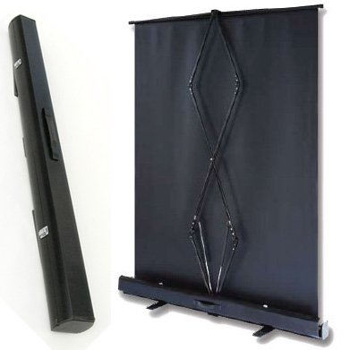 PCP90MM portable floor projection screen