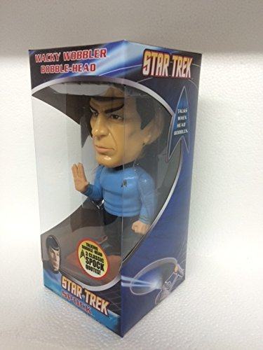 Mr. Spock - Star Trek (The Original Series) - Talking Wacky Wobbler Bobble-Head