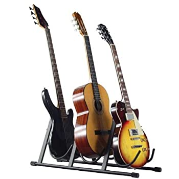 Amazon Com Guardian Multiple Guitar Stand Three Guitars