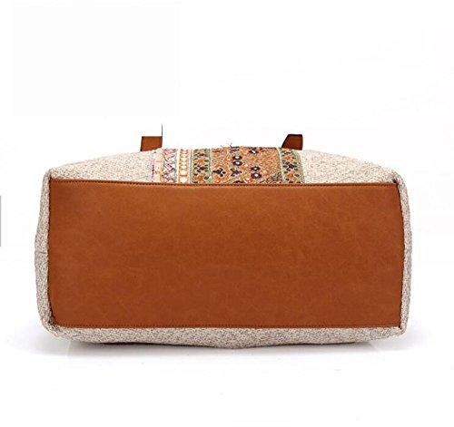 Handmade Beige Gypsy Holiday Pinchu Shoulder Banjara Tote Vintage Women For Bag Shopping Sqntxtw6