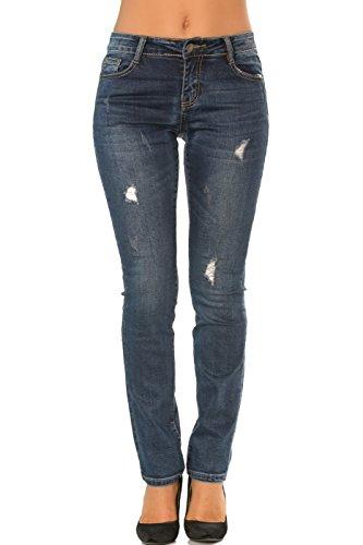 Bootcut Skinny Da Jeans Denim Donna 42 3 Boyfriend Dritto Straight Slim Slim A 34 Pantaloni qHxXzE