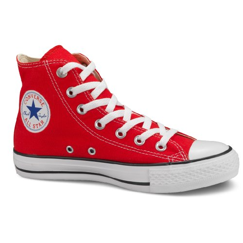 - Converse Chuck Taylor All Star Hi Top Trainer - Red, 10