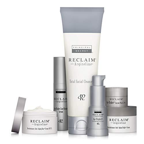 Principal Secret - Reclaim Daily Anti-Aging Essentials Kit Skincare System with Argireline - 6 Piece