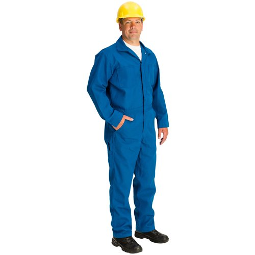 5-7-1//2 to 5-11 Royal Blue 4.5 oz TOPPS SAFETY CO07-5515-Reg//50 CO07-5515 NOMEX Coverall Regular//Size 50