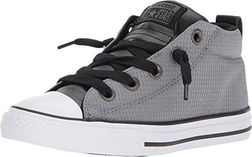 Converse Unisex Chuck Taylor All Star Street, Cool Grey/Black/White, 2 M US