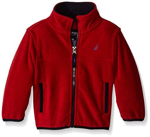 Nautica Baby Core Lightweight Fleece, Red Rouge, 18 Months ()