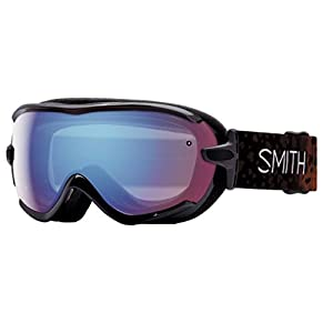 Smith Optics Virtue Women's Spherical Series Snow Snowmobile Goggles Eyewear - Uncaged/Blue Sensor Mirror / Small