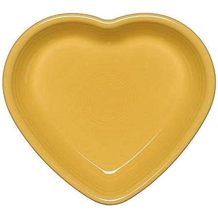 7 Oz. Retired Homer Laughlin Company Scarlet Fiestaware Heart Shaped Small Bowl