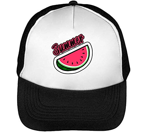 Hombre Watermelon Summer Blanco Dope Gorras Snapback Beisbol Negro AHxaqwtx