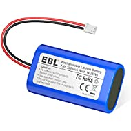 EBL 7.4V 2200mAh Li-ion Rechargeable Batteries Replacement Batteries for Electronics, Toys, Lighting, Equipment