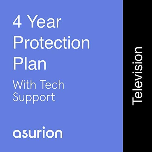 ASURION 4 Year Television Protection Plan with Tech Support $3000-3999.99