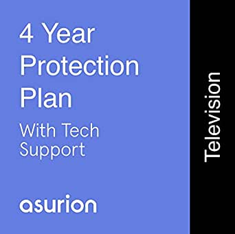 Asurion Monthly Television Protection Plan with Tech Support $500-999.99