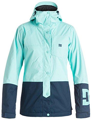 DC Defy Women's Skiing Snowboard Jacket - Aruba Blue