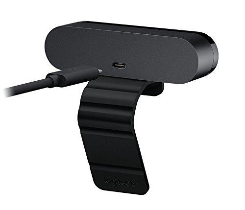 Logitech Brio Webcam - 90 Fps - Usb 3.0 - 4096 X 2160 Video - Auto-focus - 5x Digital Zoom - Microp by Logitech (Image #2)