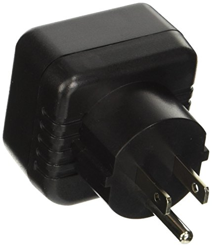 VCT Electronics VP13 Converts European/German Shucko plugs To USA Outlet Plug Adapter (Euro Plug Converter)