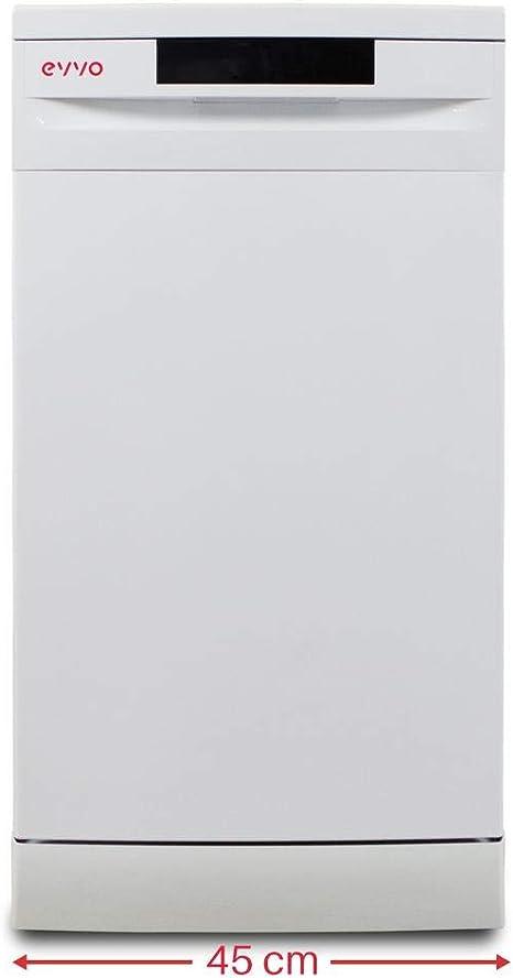 Lavavajillas Evvo D1 Slim 45cm clase A++: 299: Amazon.es: Grandes ...