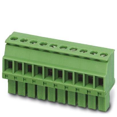 - Pluggable Terminal Blocks 5 Pos 3.5mm pitch Plug 28-16 AWG Screw (1 piece)