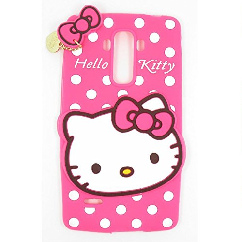 LG K520 Silicone Case,Phenix-Color 3D Cute Cartoon Soft Silicone Hello Kitty Gel Back Cover Case for LG Stylus 2/Stylo 2 K520 LS775 (#16)