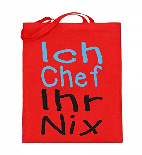 Shirtee 9OD6EB4I_XT003_38cm_42cm_5739 - Bolso de tela de algodón para mujer Azul azul 38cm-42cm Rojo Rubí