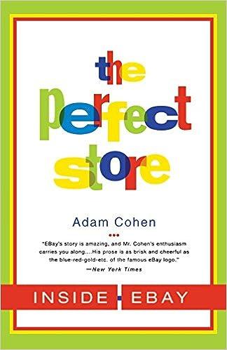 9b9c352d14b The Perfect Store  Inside eBay  Adam Cohen  9780316164931  Amazon.com  Books