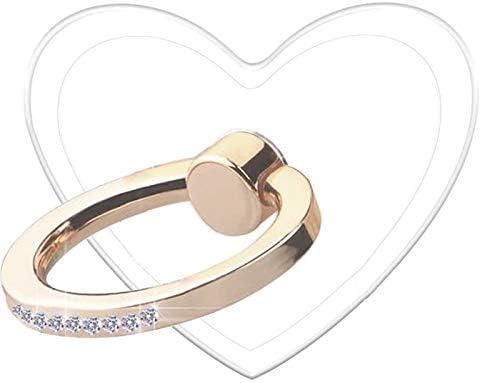 TACOMEGE Transparent Clear Phone Holder Ring...