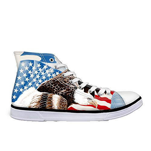 Donna a Pantofole Coloranimal Flag Stivaletto Eagle x6Bqawzaf