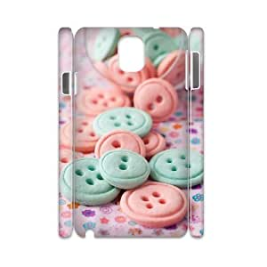 Customized Phone Case with Hard Shell Protection for Samsung Galaxy Note 3 N9000 3D case with pretty candy lxa#455425