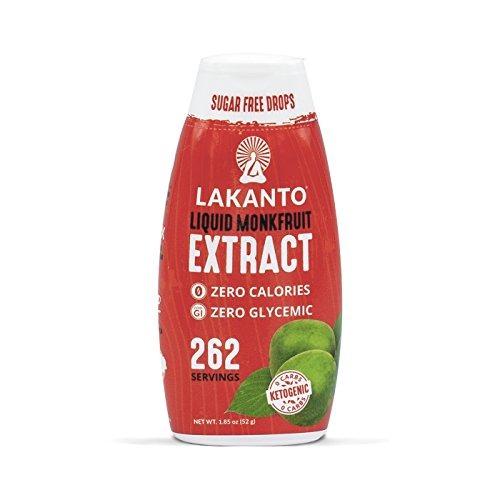 Lakanto Liquid Monkfruit Sweetener | Zero Calories | Original Flavor - Artificial Sweetener