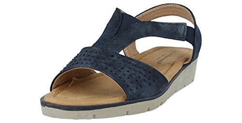 Sandales Walk Cushion Marine Bleu Femme xnfwF1